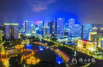 """南海桂城:三""""湖""""担重任错位同发展"""