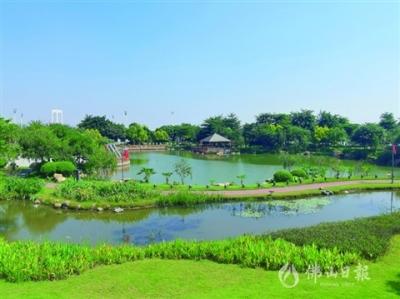漫步禪城半月島 盡享生態美
