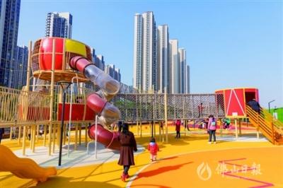 南海区桂城靓丽滨河廊道开放