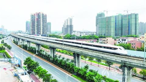 三水北站每天9趟車直達深圳 廣鐵集團明起實施新列車運行圖