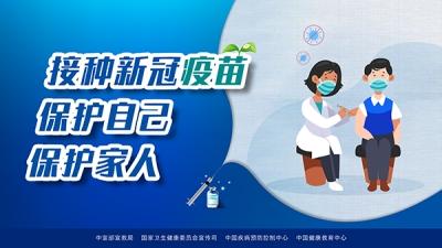 中宣部宣教局新冠病毒疫苗接種系列海報