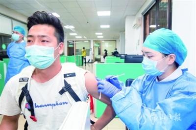 禪城新冠疫苗接種超18萬劑次 接種門診共27個點