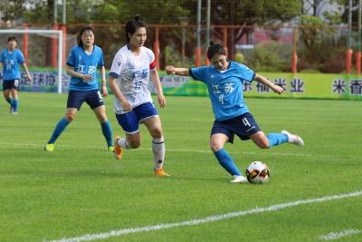 第十四届全运会女子足球B组资格赛广东赛区赛事举行